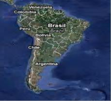 Фото.1. Южная Америка, Боливия и Перу.