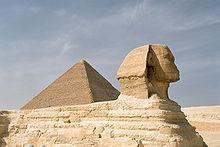 Размеры и форма тела Приама были такие-же, как у Сфинкса на плато Гизе.