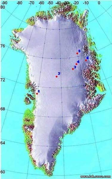 Обломок Фаэтона - Л2 - Гренландия.