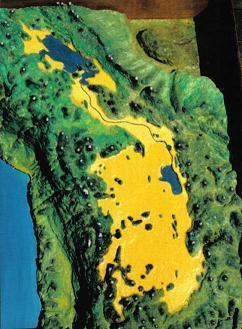 Плато Альтиплано. Озёра Титикака, Поопо и солончак Уюни.