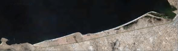 Фото.8. Третья земляная насыпь у кромки южного берега Большого озера Титикака.