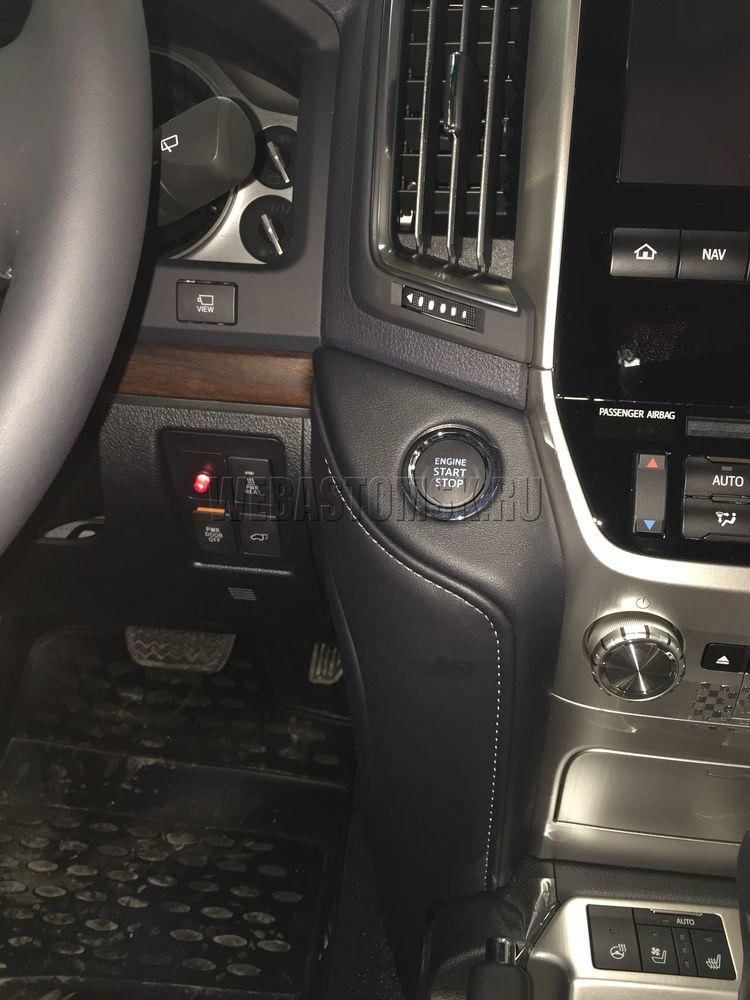 Toyota Land Cruiser 200. Установка Webasto Thermo Top Evo 5