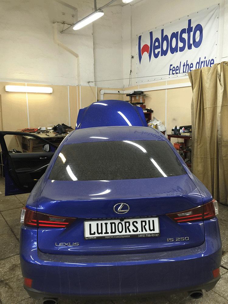 Установка Webasto на Lexus IS бензин