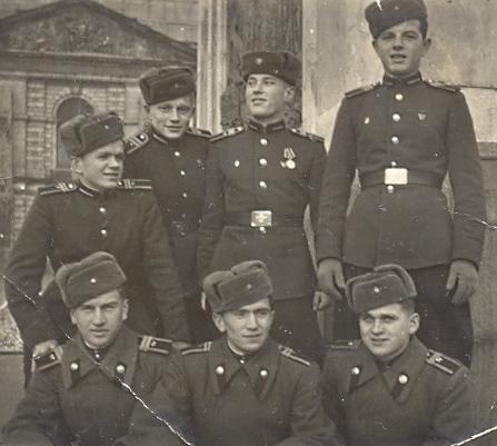 Юные защитники Родины и их медали