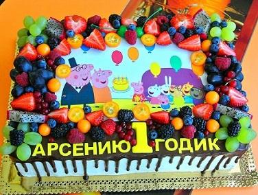 Поздравление с днем рождения арсений годик