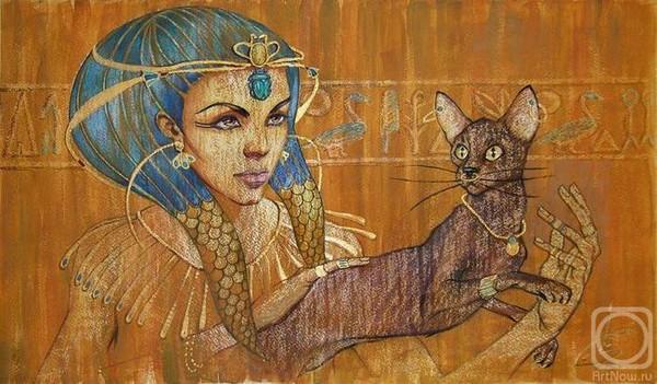 Фото девушки кошки site mail ru