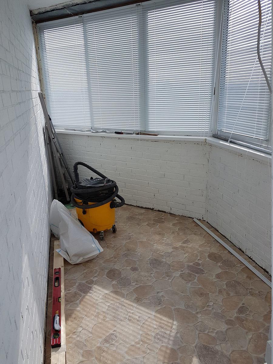 Гидроизоляция балкона.