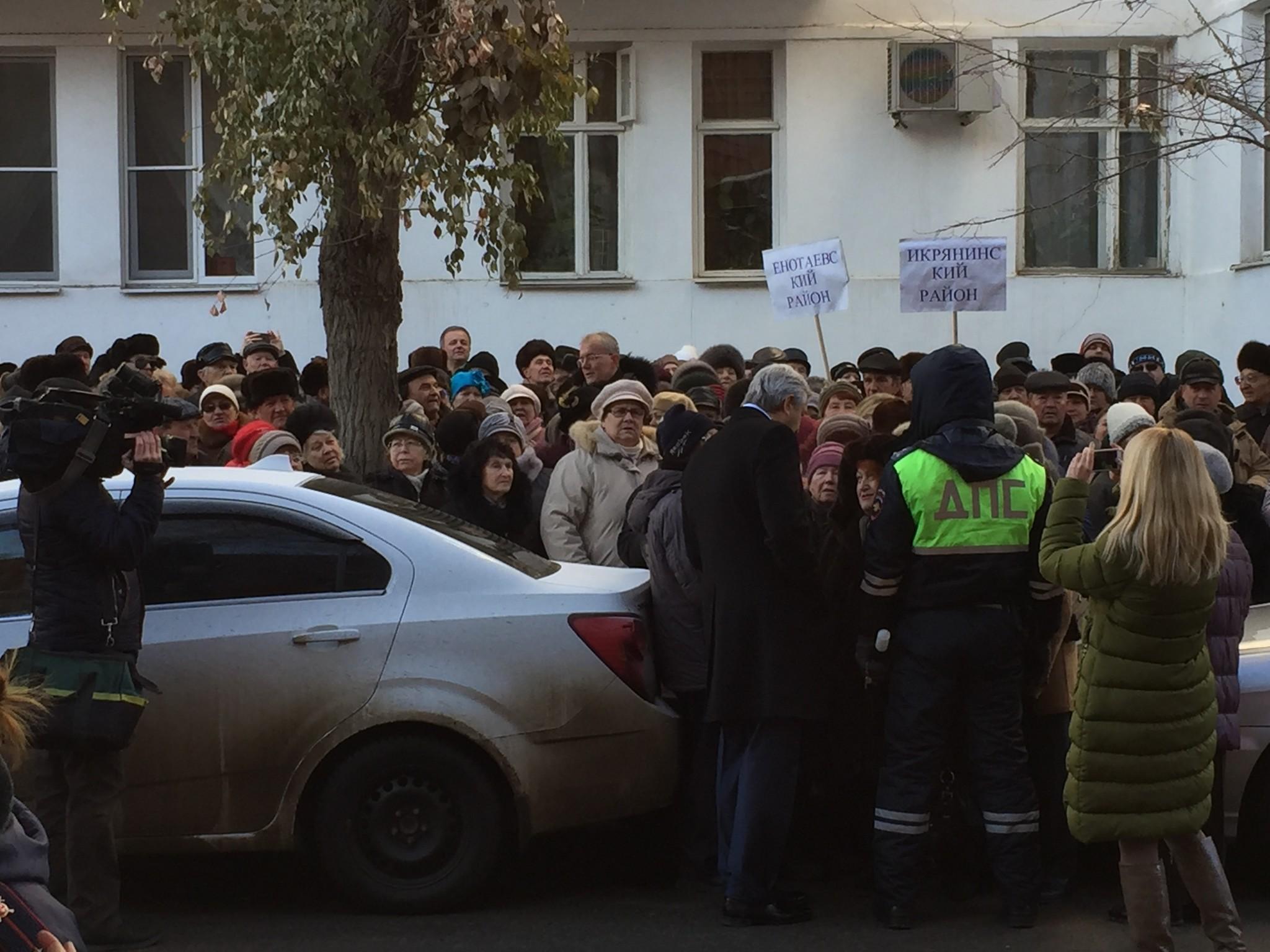 Митинг астраханских пожилых людей отсрочил принятие «Социального кодекса»