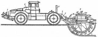 схема работы копалки ТМК-2
