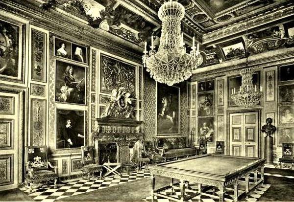 Бильярдный зал в замке