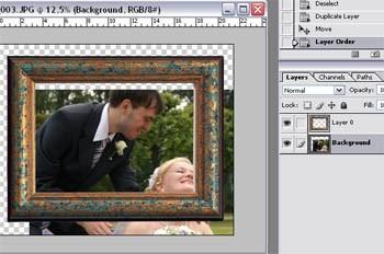 Как состарить фотографию и поместить в рамку