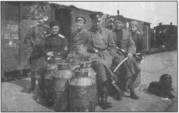 Состав северного корпуса родзянко
