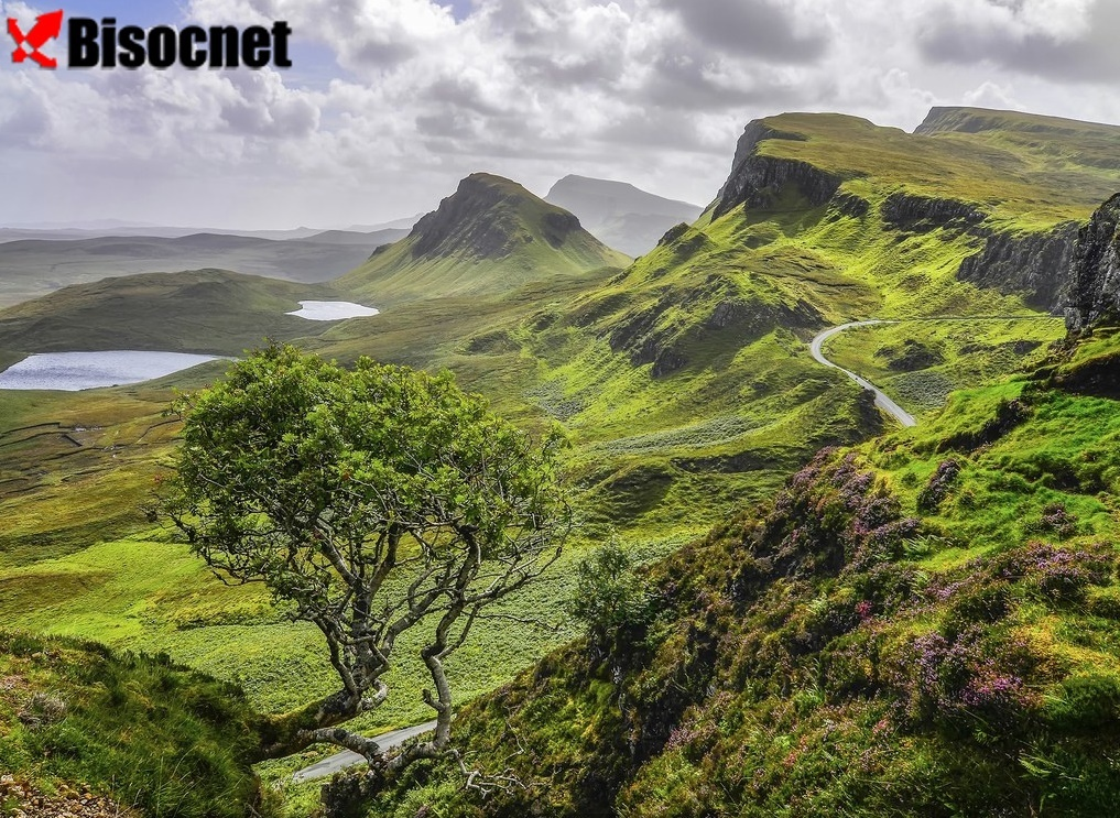 Остров Скай: Шотландия