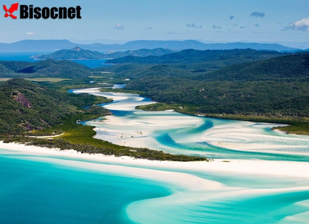 Большой Барьерный риф и Уайтхавен-Бич: Квинсленд, Австралия