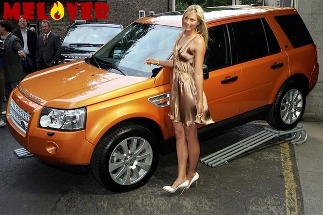 Мария Шарапова и ее автомобили