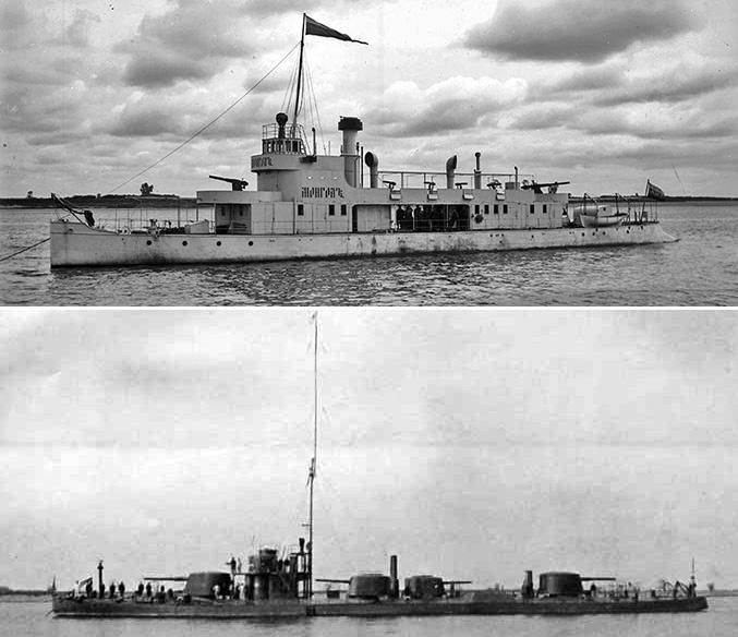 База Краснознаменной Амурской флотилии в Хабаровске
