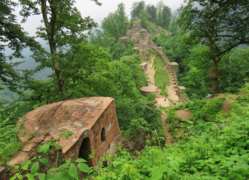 Гилянские древности. Часть 1: крепость Руд-хан