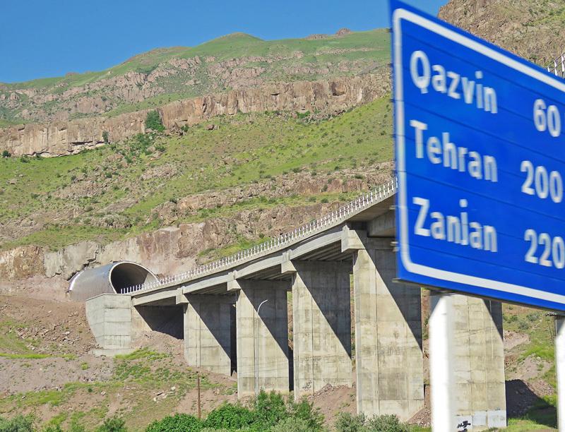 Энзели-Тегеранское шоссе. Первая русская автодорога.