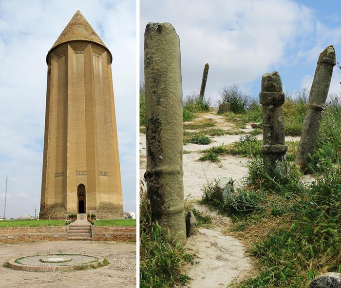 Гумбади-Кавус и Туркменская степь