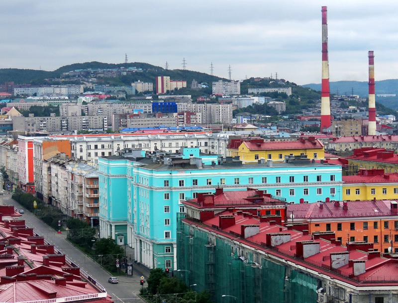 Мурманск. Часть 3: просто город