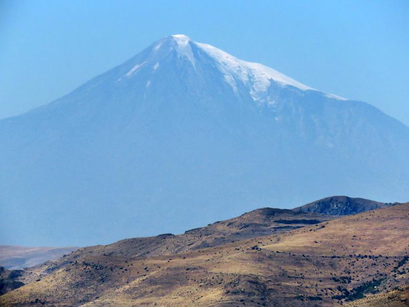 Вершины над плато