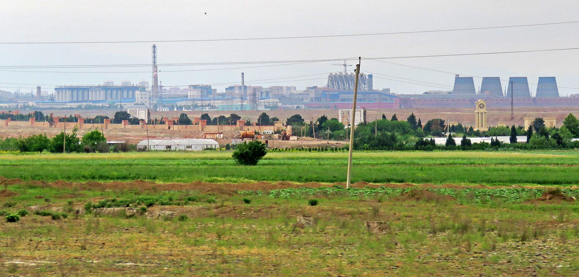 Из Шеки в Гянджу через Мингечаур. Азербайджанский Flyoverland.