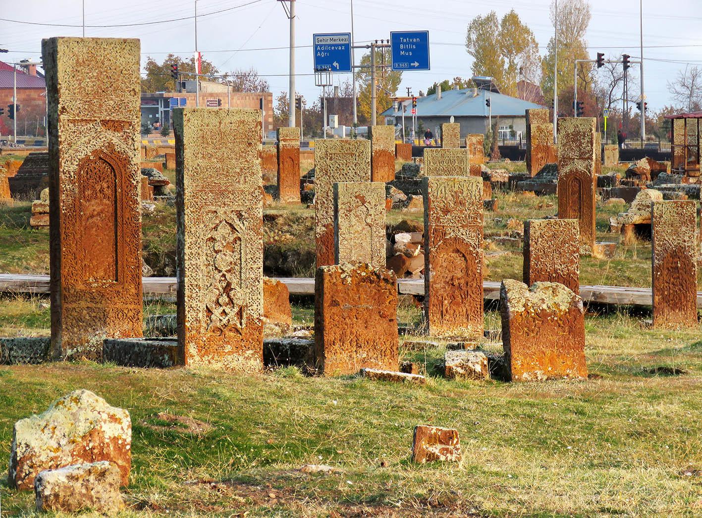 Ахлат. Город антихачкаров. замки-крепости,Турция,дорожное,этнография