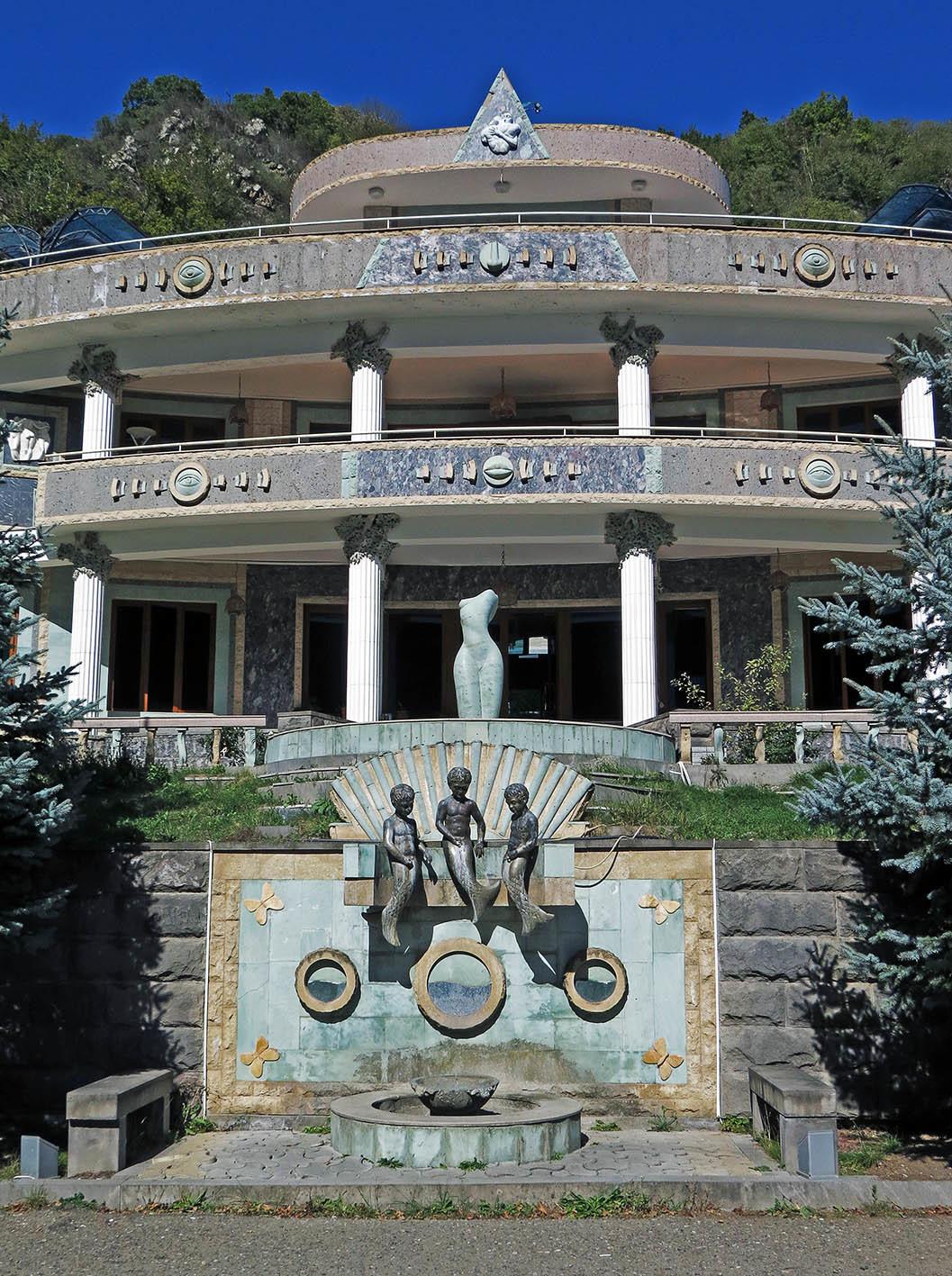 Ванк и Гандзасар. Албанская святыня и философ-олигарх. Нагорный Карабах (Арцах),дорожное