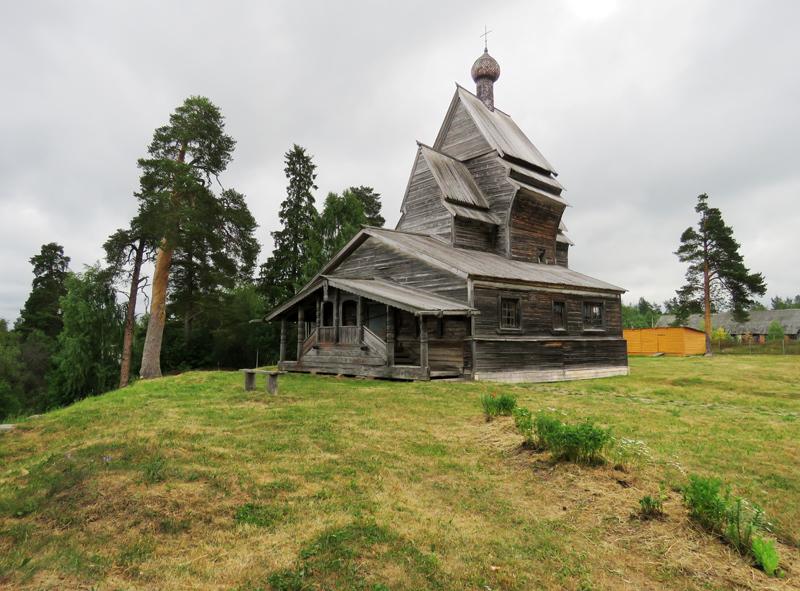 Деревянные церкви Руси (Ленобласть)