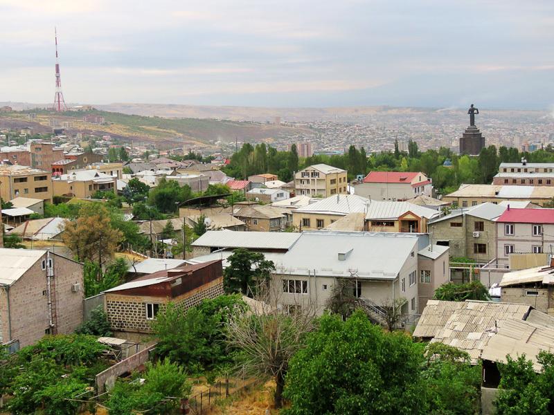 Я приехал в Ереван