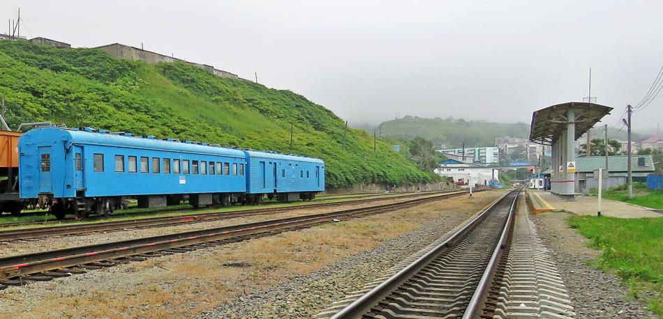 Железные дороги Сахалина. Апдейт.