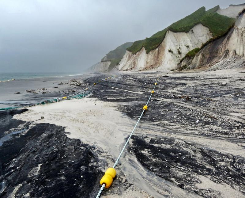Итуруп. Часть 3: Белые скалы в тайфун
