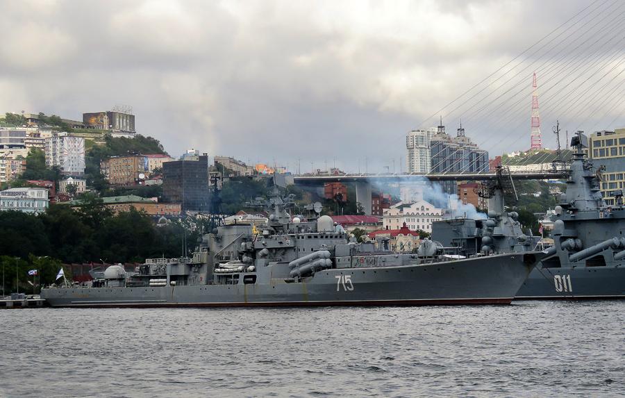 Владивосток. Часть 0: список кораблей