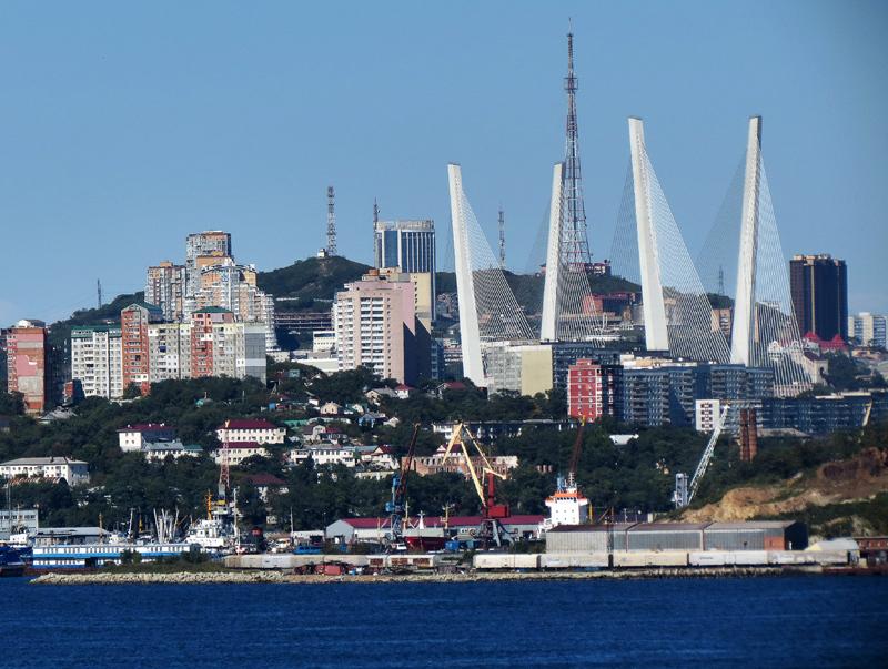 Владивосток. Часть 1: мосты и панорамы