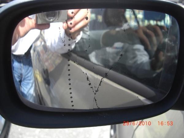 снять зеркальный элемент renault symbol