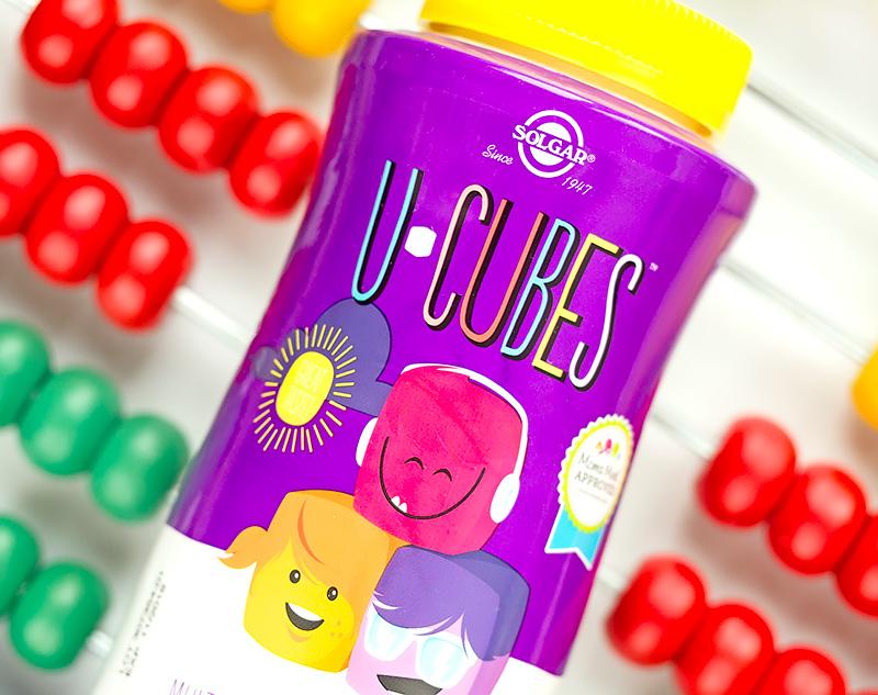 Solgar U-Cubes Жевательные витамины и минералы для детей Отзыв iherb айхерб код скидка солгар