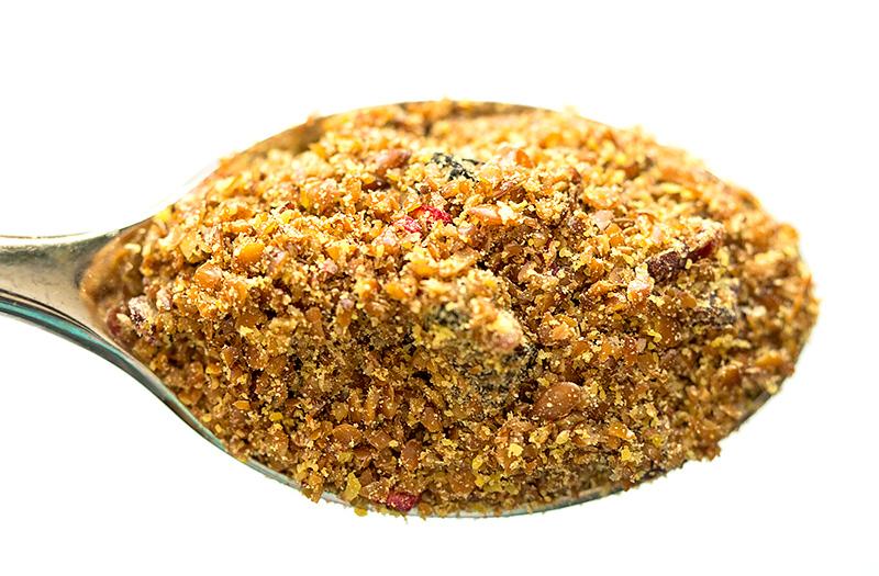 Полезное с iHerb Spectrum Essentials молотые семена льна со смесью ягод Отзыв код скидка
