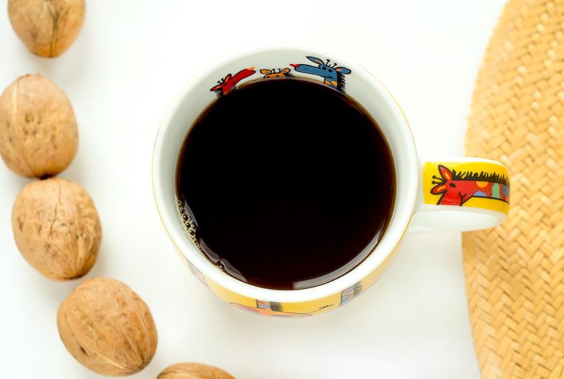 Кофе без кофеина сильной обжарки с iHerb Отзыв айхерб код скидка заказ