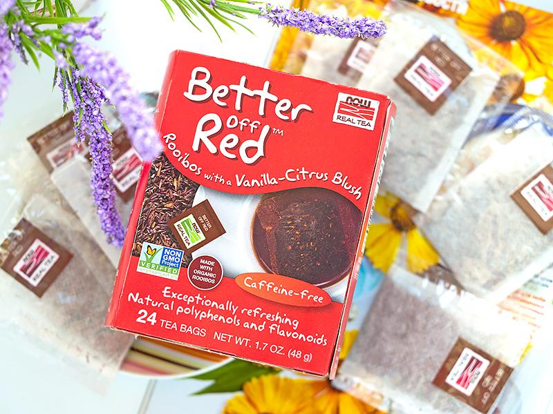 Органический ройбуш от Now Foods – удобный чай в пакетиках с iHerb Отзыв код скидка айхерб