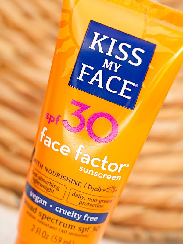 защита от солнца два санскрина Kiss My Face Отзыв айхерб iherb код