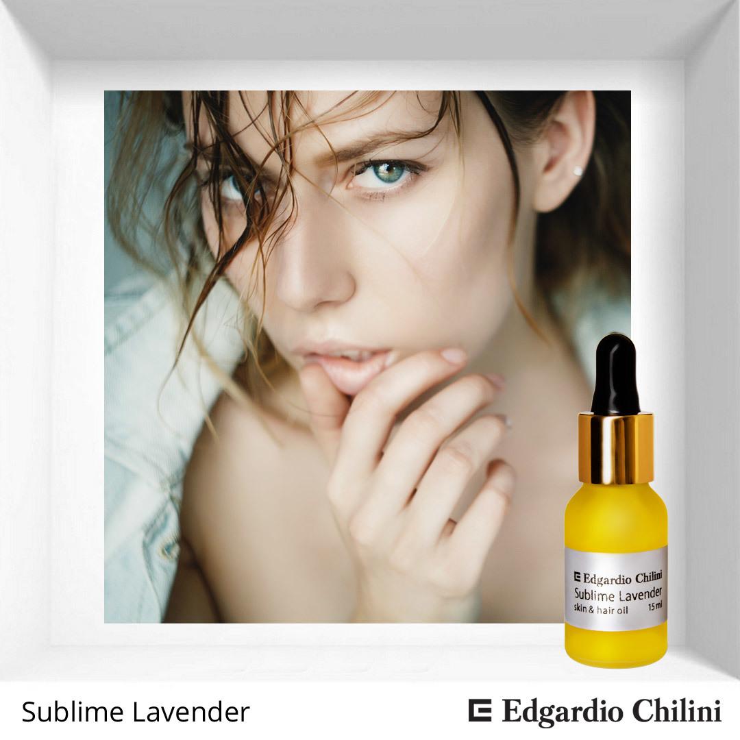 Масло для кожи и волос Sublime Lavender от Edgardio Chilini Skin Hair Oil Отзыв