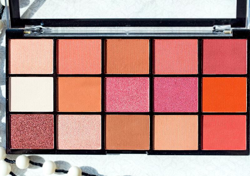 Палетка теней для век Makeup Revolution Reloaded Newtrals 2 Отзыв