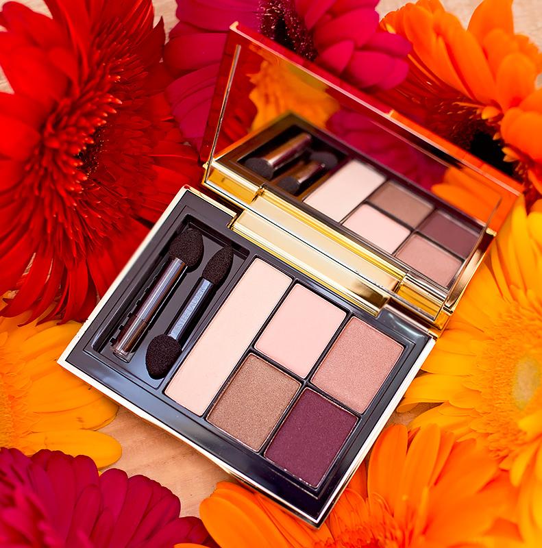 Тени Estee Lauder Pure Color Envy Sculpting Eye Shadow 5-Color Palette Currant Desire Отзыв