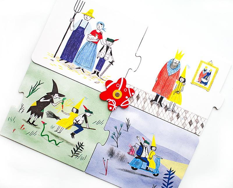 Однажды в сказке Игра для всей семьи отзыв книга