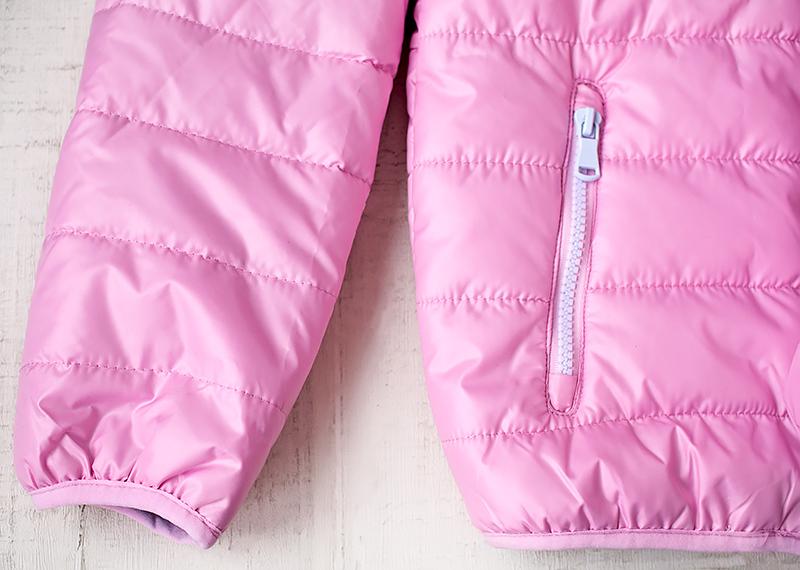 Утепленная розовая куртка для девочки от Faberlic на весну. Отзыв