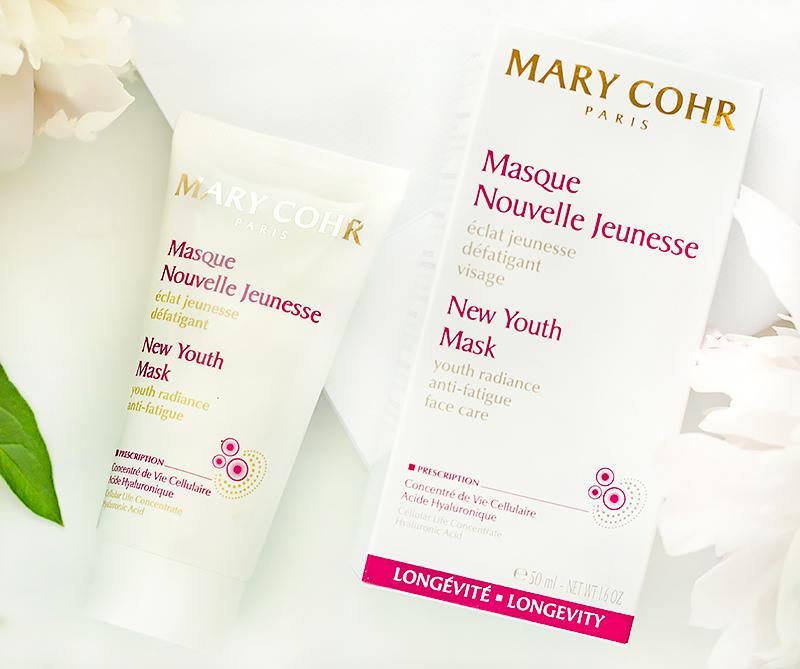 косметика Mary Cohr Masque Nouvelle Jeunesse маска Новая молодость Отзыв review состав ingredients