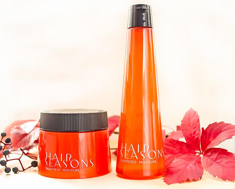 косметика Demi Hair Seasons увлажняющий шампунь и маска для волос Hair Seasons Shampoo Moisture Hair Seasons Treatment Moisture Отзыв