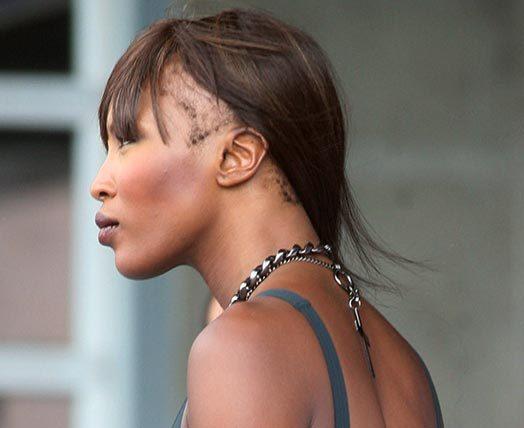 наоми кэмпбелл парик
