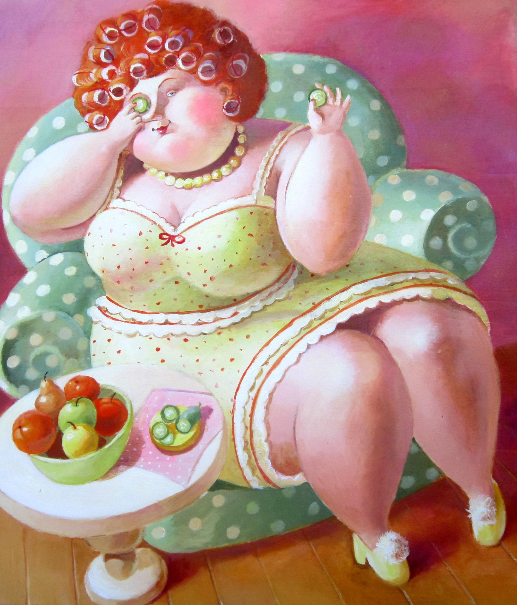 прикольные картинки с толстушками есть вас лопата