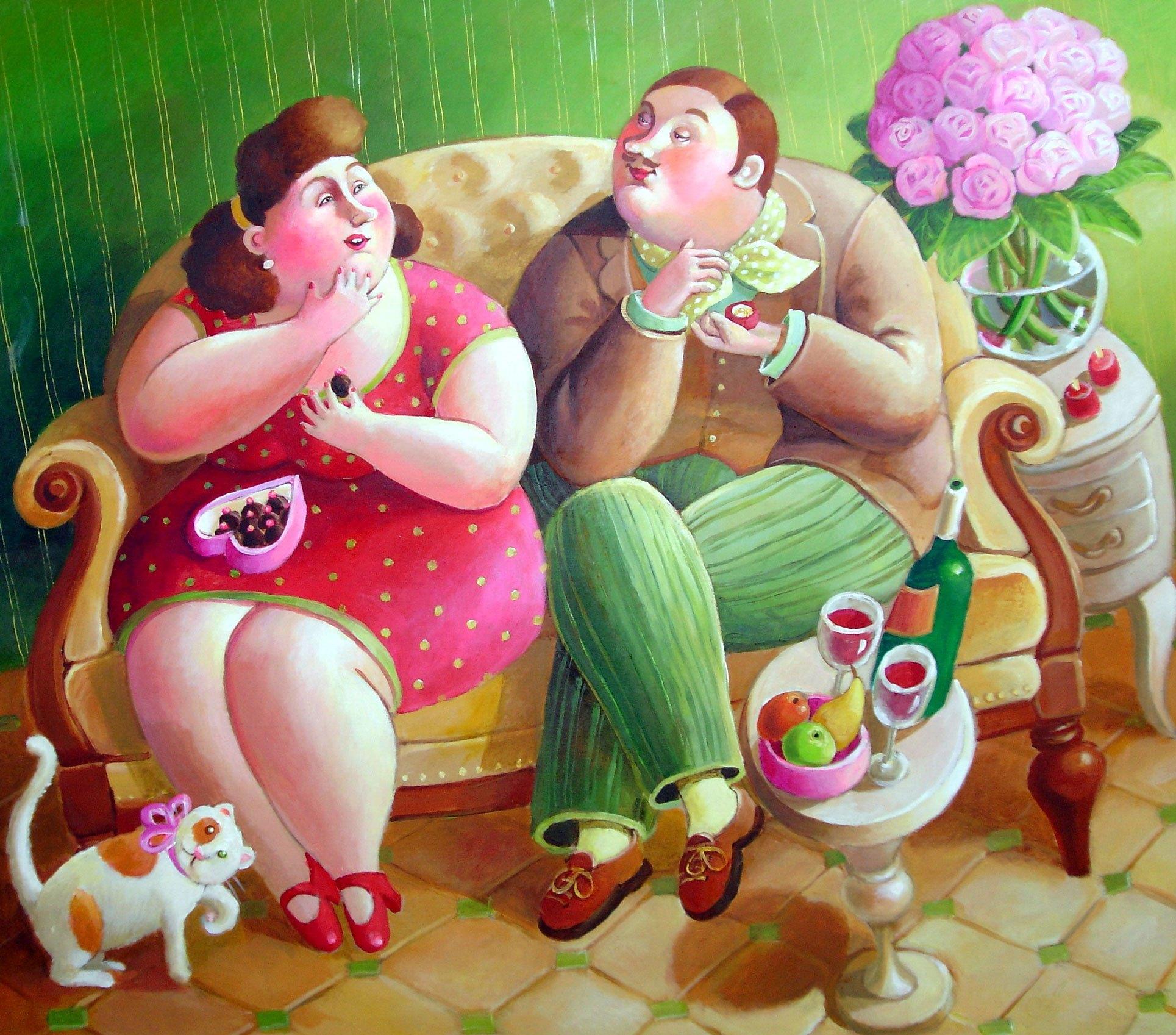 день толстяка и толстушки картинки прикольные пойти хороший границей